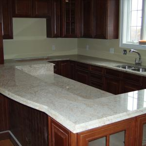 Ivory Tan Granite Counters