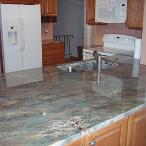 Oceanic Bourdeaux Kitchen Counter Pic 2