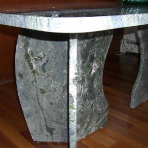 Designer Dining Table Verde Waterfall Granite