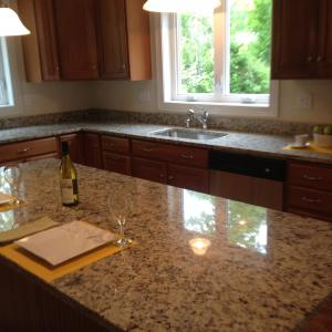 Santa Cecilia Light Granite Kitchen Countertops