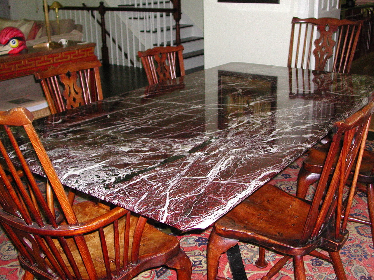 Restored Marble Table Top